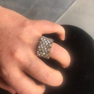 Fake diamond stretchable ring💎💎